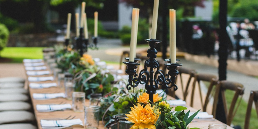 wine maker's dinner table