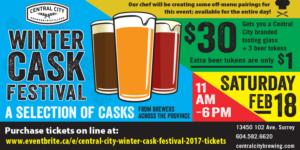 Central City Winter Cask Festival