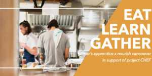 eat learn gather
