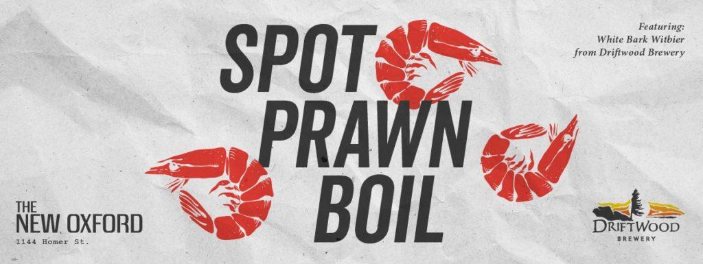 Spot Prawn Boil