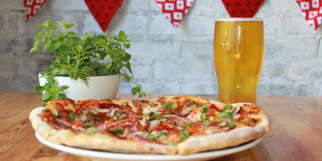 Canada Day Pizza