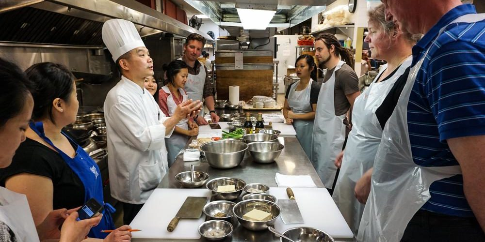 Traditional Dim Sum Cooking Class + 6-course Dinner & Wine