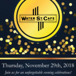 Water Street Cafe 30th Birthday Poster